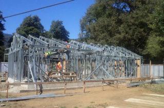 Avanza construcción del segundo jardín infantil JUNJI en la localidad de Liquiñe, región de Los Ríos