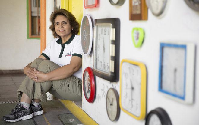 """Nora Arellano: """"En este jardín infantil el arte sale de los museos y se queda con los niños y niñas de la JUNJI"""""""