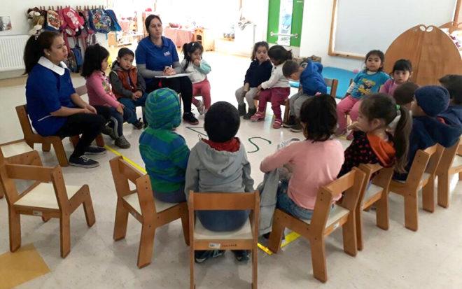 """La iniciativa del Jardín Infantil """"Los Arrayanes"""" de Catemu tiene por objetivo que el aprendizaje sea significativo al dar la posibilidad a los párvulos de elegir actividades que respondan a sus necesidades e intereses."""