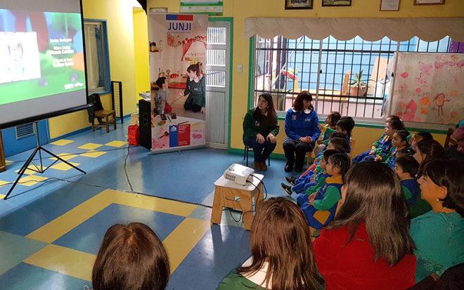 Su objetivo es acercar la TV Cultural y Educativa a los niños y niñas incorporando el uso adecuado y planificado de esta TV infantil en el contexto educativo inicial.