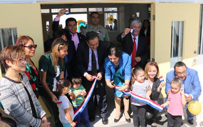 Establecimiento demandó una inversión superior a los 775 millones de pesos y cuenta con dos salas cuna con capacidad para 40 lactantes y dos aulas de nivel medio para 56 párvulos.