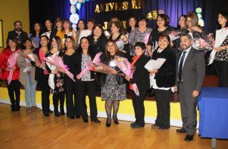 Con mucha emoción la JUNJI Magallanes reconoció a 28 funcionarios por sus años de trabajo