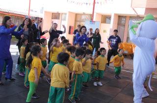 Párvulos celebraron el Día del Deporte en Iquique