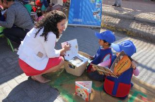 Párvulos de Huara participaron en intervención lectora