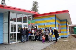 Familias de Carimallín conocieron detalles del jardín infantil que se construye en la zona