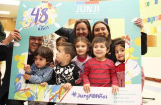 JUNJI Biobío conmemora 48 años de vida al servicio de los niños y niñas
