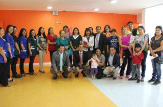 Autoridades y comunidad visitaron instalaciones del próximo jardín infantil que funcionará en Curicó