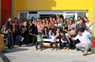 Familias y vecinos eligieron el nombre del nuevo Jardín de la JUNJI en Los Ángeles