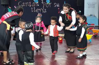 Niños y niñas participaron en atractivo proyecto cultural