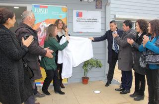 Autoridades inauguran el primer jardín infantil de la localidad de Peor es Nada