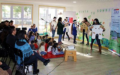 """Hasta el próximo 28 de junio estará abierto el concurso """"Pinta tu Sonrisa"""", en el que podrán participar los jardines infantiles de JUNJI, Integra y de escuelas básicas municipales de la región"""
