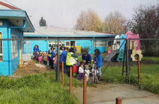 """Jardín infantil """"Carrusel"""" realiza simulacro de incendio para evaluar plan de emergencia"""