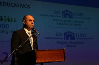 Niñas y niños fueron protagonistas de la Cuenta Pública Participativa 2017 de la JUNJI