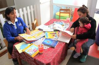 "Jardín Infantil ""Caperucita Roja"" organiza ""chocolatada"" para fomentar la lectura"