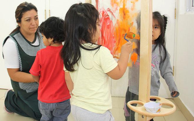 """Los jardines infantiles """"El Pedregal"""" y """"Semillitas de Cuya"""" fueron los mejores evaluados en la región."""
