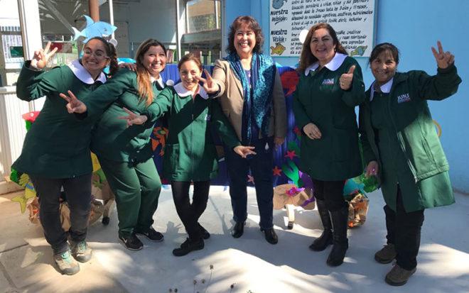 Establecimiento de Los Vilos logró el mejor puntaje de la provincia del Choapa en la medición del Modelo de Gestión de Calidad de la Educación Parvularia.