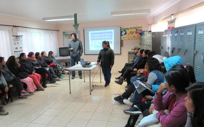 La jornada fue organizada por el equipo de estilo de vida saludable del establecimiento que lidera la educadora de párvulos, Liliana Peralta.