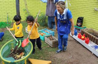 Párvulos aprenden a cuidar el medio ambiente con experiencias significativas de aprendizajes