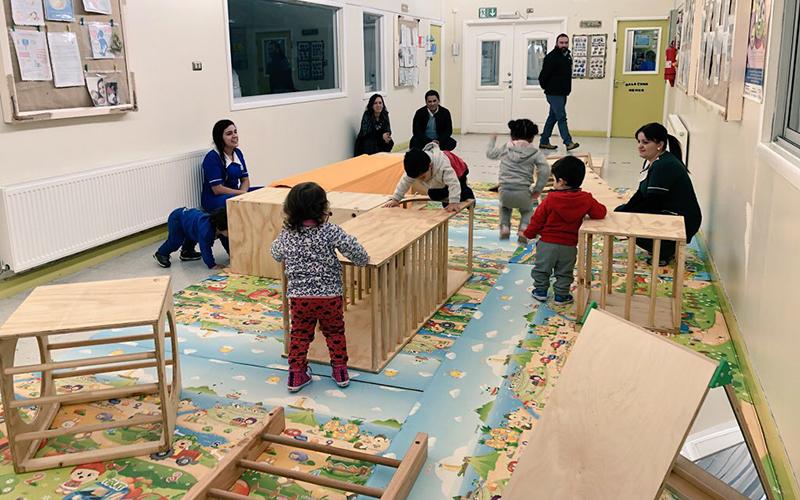 Se trata de nuevos materiales didácticos que llegaron a los jardines infantiles de la JUNJI, fortaleciendo el aprendizaje por descubrimiento de los niños y niñas.