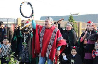 Asociación indígena Talcahueñu Ñi folil celebra We Tripantu en jardín infantil
