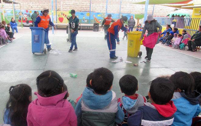 Con dramatizaciones celebran el Día Mundial del Medio Ambiente.