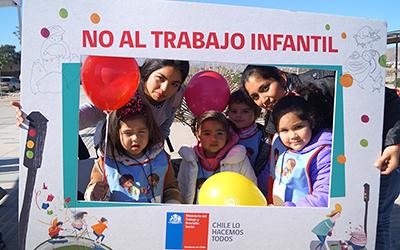En Chile 219.614 niños, niñas y adolescentes trabajan, lo que representa un 6,6%. En la región, a través de las acciones del comité se han realizado jornadas de fiscalización para prevenir el trabajo infantil en todas sus formas.