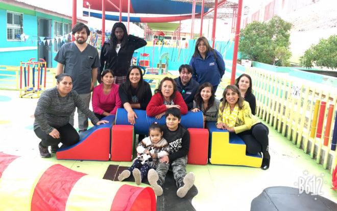 "Jardín Infantil ""Dumbo"" inaugura moderna sala sensorial"