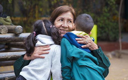 Sylvia destaca que uno de sus mayores logros fue lograr la unión de todos los actores sociales en torno al jardín infantil: familias, vecinos, municipalidad y redes asistenciales.