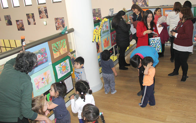 La JUNJI Magallanes resalta sello cultural en alianza con la Casa Azul del Arte.