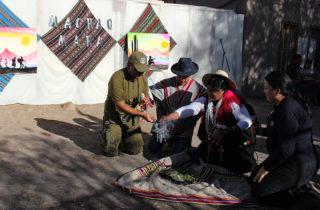Párvulos conmemoraron el Machaq Mara en Quebrada de Tarapacá