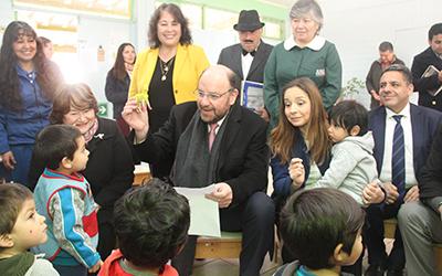 En su primera visita oficial a la región de Coquimbo, el Secretario de Estado profundizó en el mensaje presidencial emitido en su reciente cuenta pública, en la que destacó el Acuerdo Nacional por la Infancia