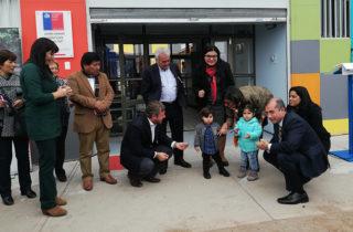 Inauguran nuevo jardín infantil en el sector de La Pampa para 96 párvulos