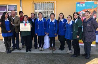 Jardines infantiles de la JUNJI Biobío reciben importante reconocimiento en Modelo de Gestión de Calidad