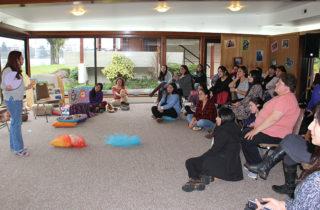 Equipos educativos de la JUNJI se capacitan en mediación de lectura