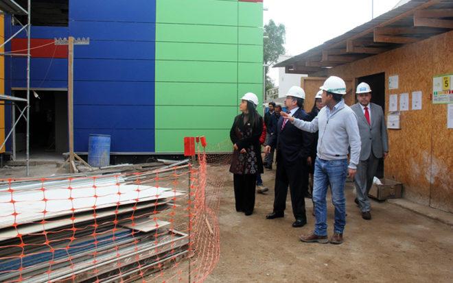 La institución realizó una inversión cercana los 700 millones de pesos para llevar a cabo el proyecto que considera una moderna estructura para 48 niños y niñas del sector.