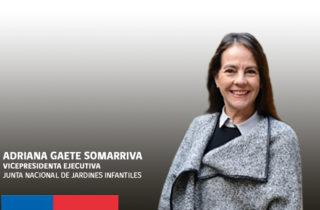 Asume nueva Vicepresidenta Ejecutiva de la JUNJI