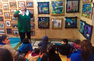 Artista inspira su obra en proyecto de aula de jardín infantil