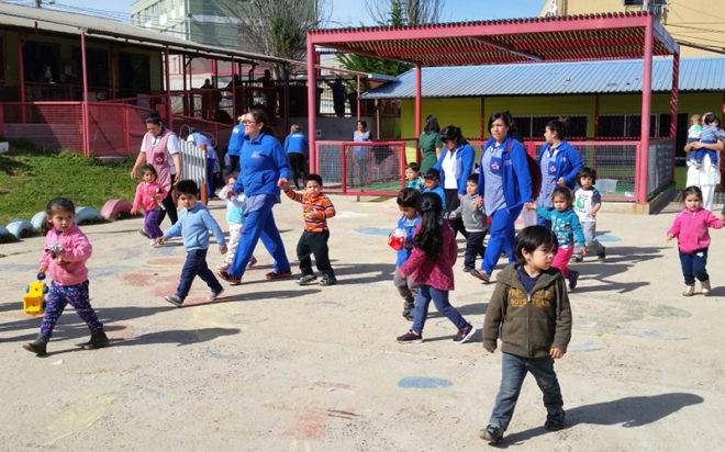 Con esta iniciativa se busca promover una cultura preventiva desde los primeros años de vida en todas las unidades educativas de la región de Valparaíso.