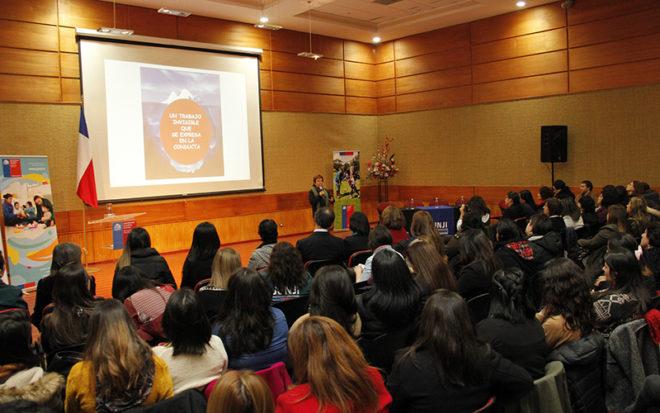 Diálogos en torno a la diversidad y el respeto además de aspectos relacionados con la Ley 20.422 fue parte de lo que se abordó en jornada participativa realizada en Rancagua.