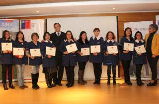 Mineduc, JUNJI y Fundación Integra reconocen a sus técnicos en educación parvularia