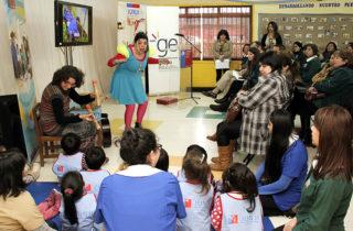 200 párvulos de La Araucanía participaron en proyecto artístico