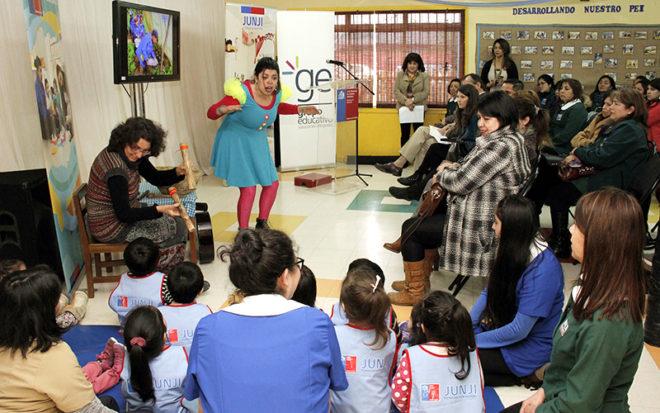 La iniciativa que se desarrolló entre los meses de mayo y agosto de 2018, permitió llevar el arte, danza, música y teatro en talleres vivenciales, a los niños y niñas en los jardines infantiles con extensión horaria.