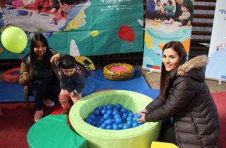 Celebran mes de la infancia con muestra de experiencias pedagógicas