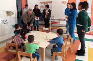Realizan taller de historia local para elegir nombre de jardín infantil