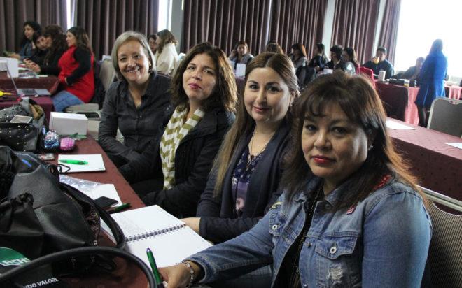 Participaron representantes de los jardines infantiles clásicos de la institución y estuvo liderada por el director regional de Onemi, Alvaro Hormazábal y la directora regional (s) de la JUNJI, Pamela Sierra.