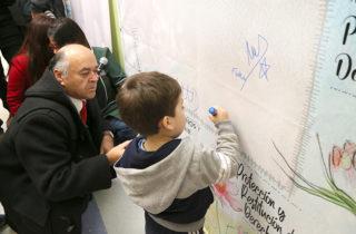 Párvulos, Intendente y Seremis firman Acuerdo Regional de Infancia en Hualpén