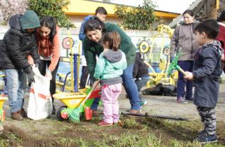 """Jardín Infantil """"Costanera Sur"""" integra Brigada Ecológica en Concepción"""