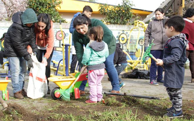 Fomentar acciones de cuidado del medio ambiente es el objetivo principal de esta Brigada que agrupa diferentes redes y organizaciones sociales del sector Pedro de Valdivia Bajo.