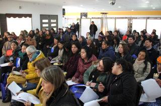 Capacitan a ELCI y educadoras de párvulos en enseñanza de la lengua mapuche
