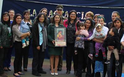 En la jornada también se contó con la presentación de la Tribu Kangudanza, entidad que tienen por finalidad apostar por la lactancia materna, quienes en la ocasión danzaron junto a sus hijos.